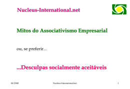 P08 - Mitos do Associativismo Empresarial ou se preferir