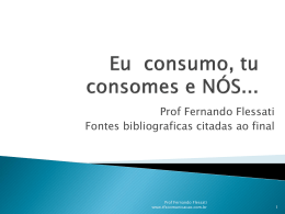 Comportamento do consumidor - TFS Comunicação & Marketing