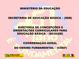 Ensino Fudamental de nove anos - Edna Borges
