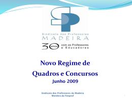 CONCURSOS_2009-RAM - Sindicato dos Professores da Madeira