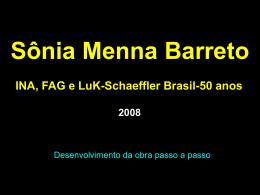 INA, FAG e LuK-Schaeffler Brasil