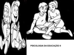 PSICOLOGIA DA INFÂNCIA E DA ADOLESCÊNCIA