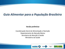 Apresentação do PowerPoint - Conselho Nacional de Saúde