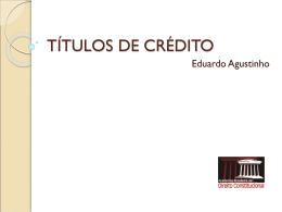 Títulos de Credito