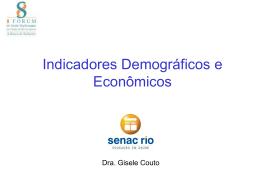 Apresentação Dra. Gisele Couto - Senac Rio