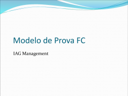 Modelo de Prova FC