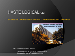 Haste Logical cM - Cirurgia de Quadril