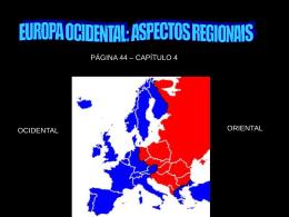 Europa - Regiőes