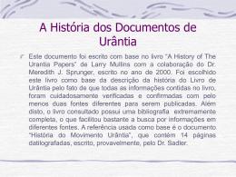 História da Urantia