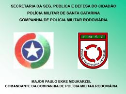 Radares em Santa Catarina