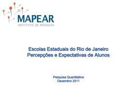 Pesquisa 1 - Governo do Estado do Rio de Janeiro