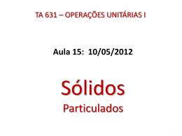 Aula 15 - Unicamp