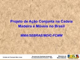 Projeto de Ação Conjunta na Cadeia Madeira e Móveis