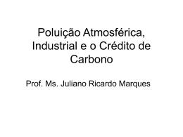 Aula 6 - Poluição atmosférica e poluição industrial