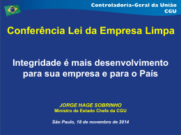 Integridade é mais desenvolvimento_Jorge