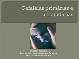 Seminário apresentado pelo acadêmico de medicina