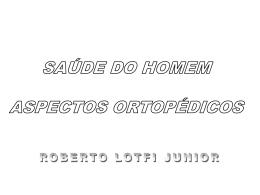 Aspectos Ortopédicos