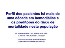 Tema Livre - Perfil dos pacientes há mais de uma - fmc