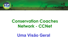 Slide 1 - Conservation Coaches Network