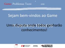 Game - Problemas Técnicos