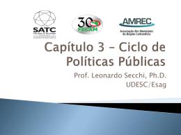 Ciclo de Politicas Publicas
