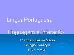 Linguagem, língua