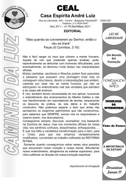 Jornal CEAL edição abril/maio 2011