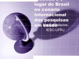 O lugar da pesquisa brasileira no cenário mundial