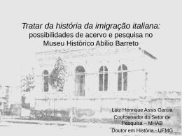 O lugar da História: intervenções museais no espaço urbano em