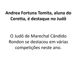 Andrea Fortuna Tomita, aluna do Ceretta, é destaque - CE