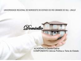 Domicílio - Capital Social Sul