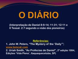 O Diário em Daniel 8:13 Entenda a