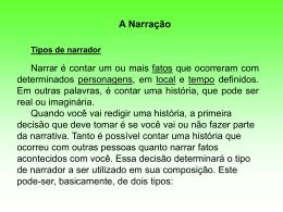 Narraçao