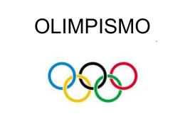 OLIMPISMO - Etec de Franco da Rocha