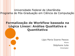 Slides - Facom - Universidade Federal de Uberlândia