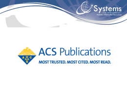 ACS Publications Division
