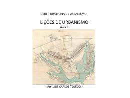 o pensamento urbanístico no brasil
