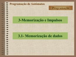 Automação Programada - SBSZ