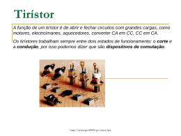 Tirístor - galileu