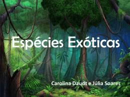 3.Espécies Exóticas