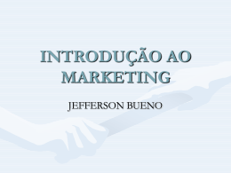 MARKETING - Universidade Castelo Branco
