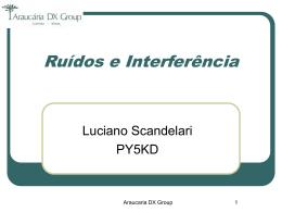 Ruídos e Interferência PY5KD