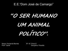 """E.E.""""Dom José de Camargo"""""""