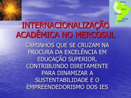 Internacionalização Acadêmica no Mercosul
