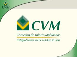 Novas Instruções CVM