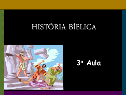 HISTÓRIA BÍBLICA - Global Training Resources