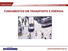 Fundamentos em transporte e energia www.transportlearning.net