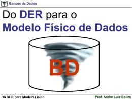 do DER para o Modelo Físico - Professor André Luiz Souza