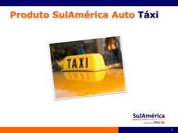 Produto SulAmérica Auto Táxi