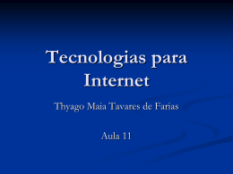 Arrays em PHP - Profº Thyago Maia